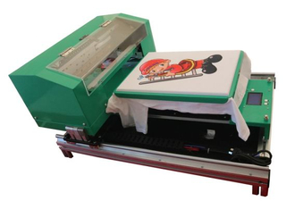 A3 Size DTG Printer for T-Shirt with White Ink