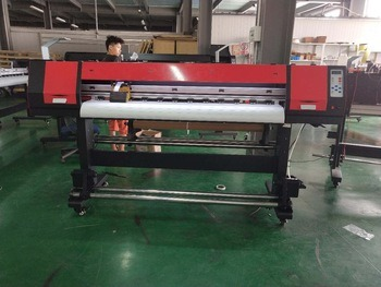 Inkjet Printer Digital Large Format Printer 1.8 Meters Eco Solvent Printer for Vinyl Banner