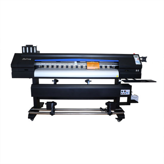 High Speed Digital Inkjet Eco Solvent Printer with Exterior Heater