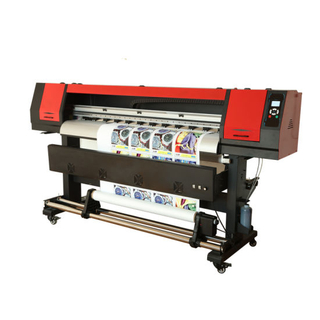 Automatic Large Format Inkjet Eco Solvent Printer with Exterior Heater